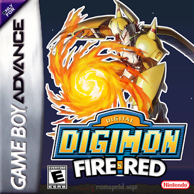 Digimon Fire Red GBA ROM Hack Download