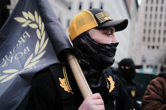 Proud Boys white supremacy racism xenophobia violence terrorism politics Nazi Canada
