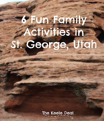 "Each time our family visits St. George there are some things we just ""must"" do (swimming and a visit to the skate park are our top 2). Here are 6 activities our family has had fun doing in St. George."