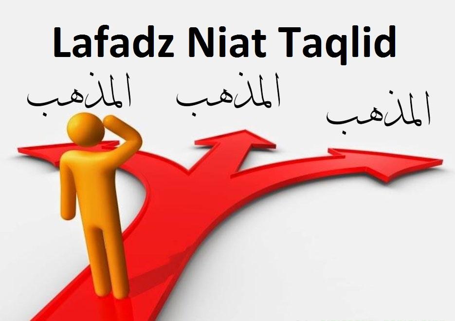 Lafadz Niat Taqlid Sebelum Membayar Zakat Fitrah
