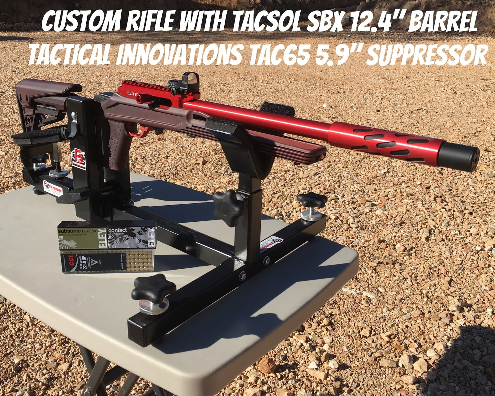 The Rimfire Channel Blog: 22 LR Ammo Test - CCI Subsonic 40 Grain HP