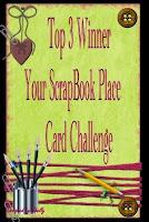 Top 3 Your Scrapbook Place Challenge