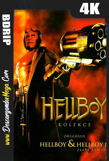 Hellboy 2 El Ejército Dorado (2008) 4K UHD [HDR] Latino