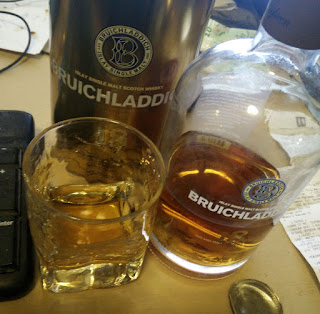 Bruichladdich 18 year old; such a lovely dram