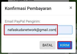 Alamat Email Pembayaran