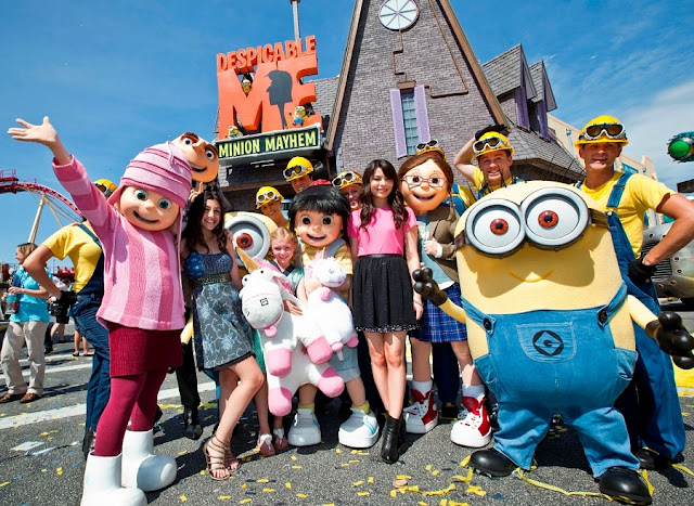 Minion no Universal Studios Hollywood