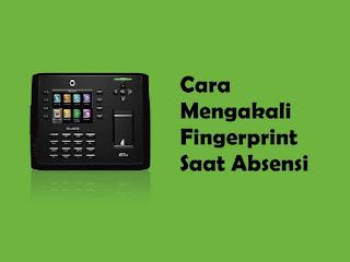 Terdapat 5 trik untuk memanipulasi pengisian absensi fingerprint