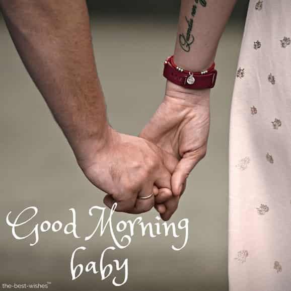 good morning baby