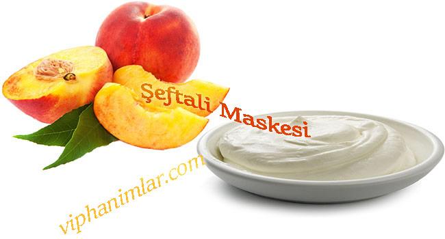 Şeftali maskesi