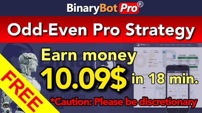 Odd-Even Pro Strategy | Binary Bot Pro