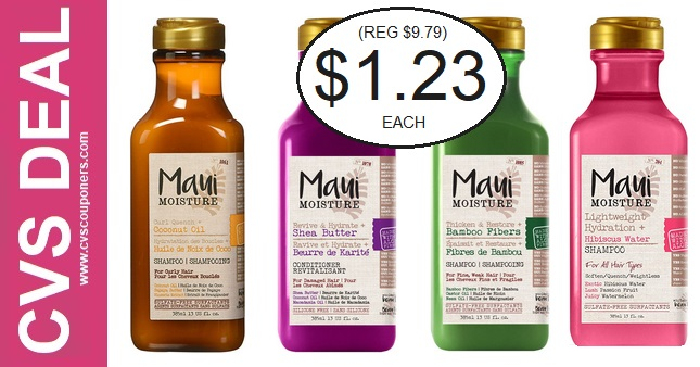 Save Big on Maui Shampoo at CVS