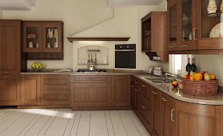Характеристики и особенности кухонной мебели из массива древесины Бука