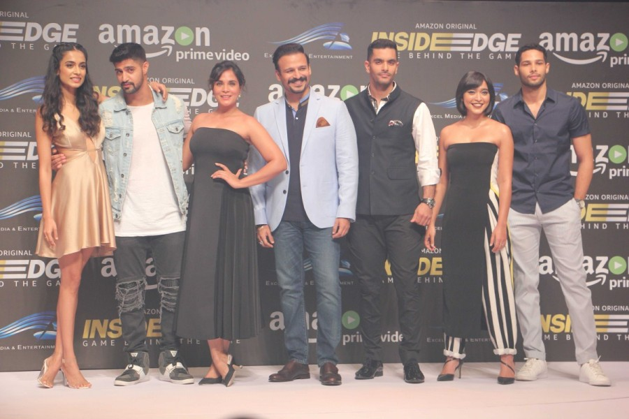 Vivek Oberoi and Richa Chadda at Amazon Original Series Trailer Launch