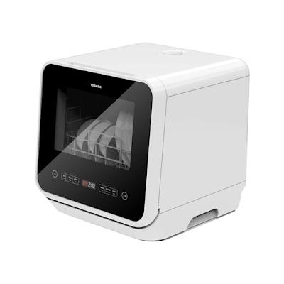 TOSHIBA Mini Dishwasher