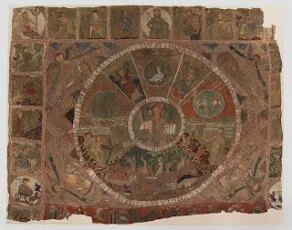 Fig 1. Bordado de la Creación de Girona