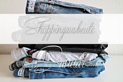 Shoppingausbeute | Januar - www.josieslittlewonderland.de - fashion, new yorker, haul,