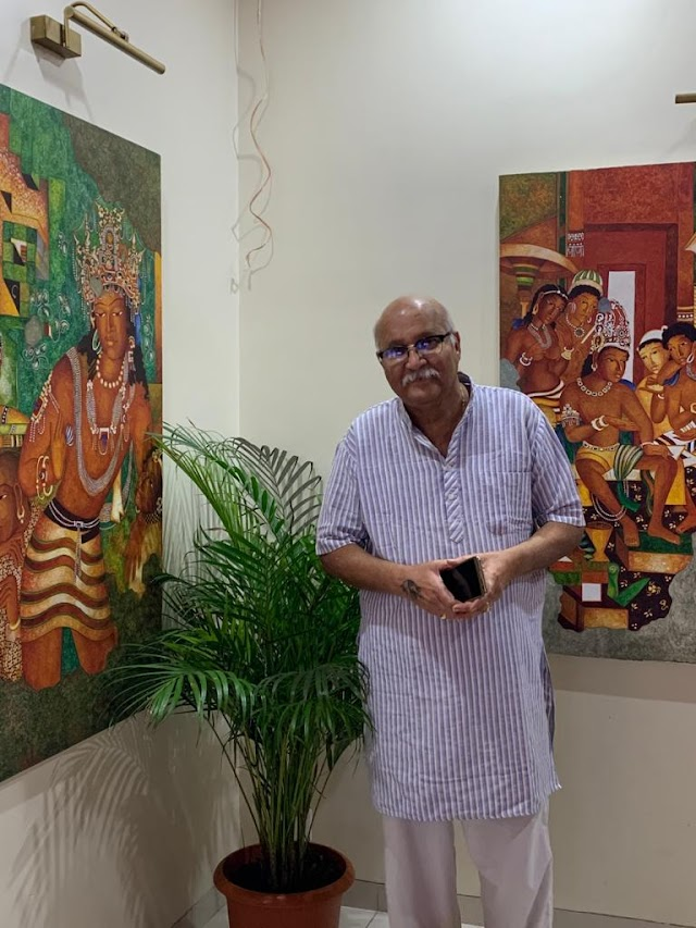 विजय कुलकर्णी यांचे अजिंठा वेड (Vijay Kulkarni Obsessed With Ajintha Art)
