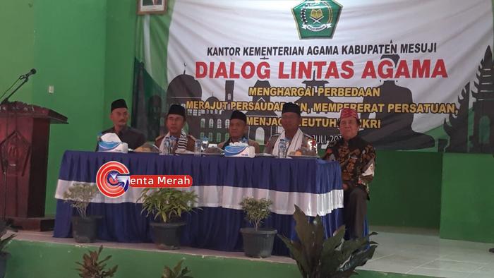 Rajut Silaturahmi Antar Agama, Kemanag Mesuji Gelar Dialog Lintas Agama