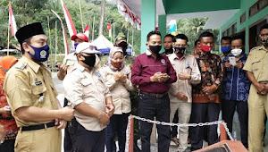Tingkatkan Perekonomian Masyarakat BUMDes Mart Sagara Makmur Desa Gandong Salem