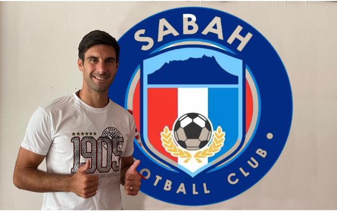 Josip Ivančić sertai Sabah FC