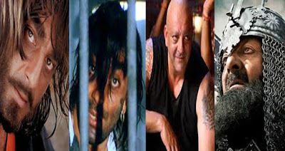 Who has played the most villain and hero in Bollywood movies?
