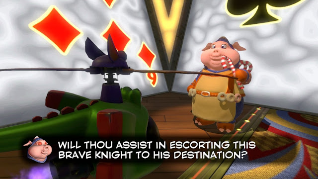 Yooka-Laylee Sir Scoffsalot Hamalot Capital Cashino escort mission