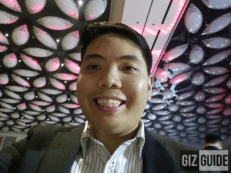 Indoor selfie!