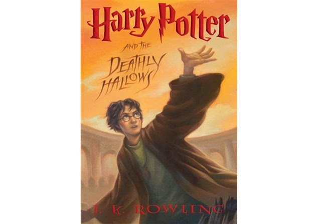 #18   Harry Potter and the Deathly Hallows - JK. Rowling