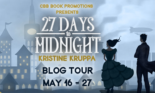 BLOG TOUR, REVIEW, GUEST POST & GIVEAWAY: 27 Days to Midnight by Kristine Kruppa