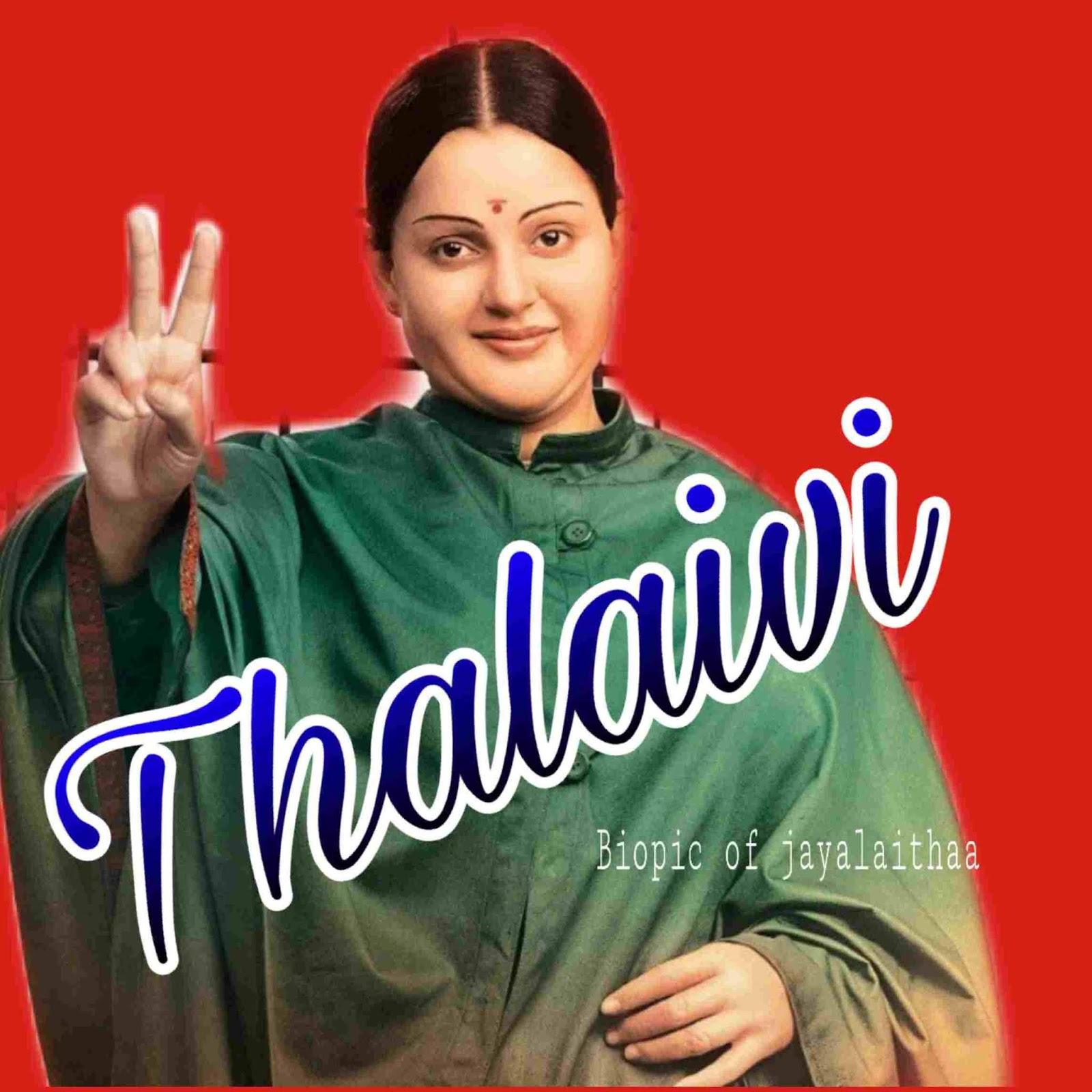 Thalaivi movie kangna ranaut trailer cast
