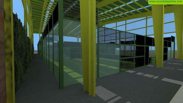 El Ayuntamiento acomete la última fase de las pistas de pádel en el Polideportivo de Las Lomadas