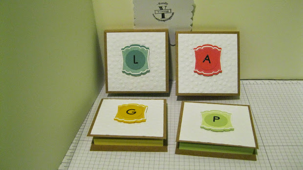 Greeting Cards Personalized Post Note Holders