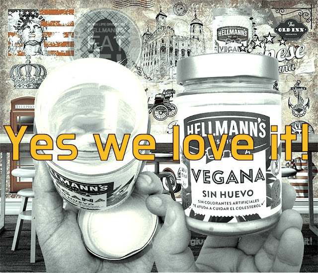 BIOVEGAN PORTUGAL ® NEW HELLMANN'S VEGAN MAYO - YES WE LOVE IT!
