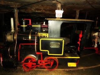 Trem Usado na Visitação da Mina de Carvão