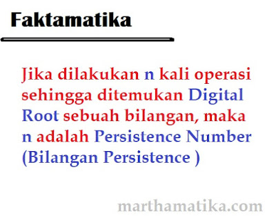 bilangan persistance number