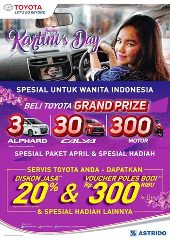 Toyota Promo Hadiah Undian Spesial April 2018