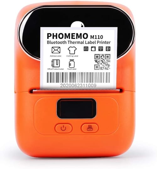 Review Phomemo Pho-M110-OR Bluetooth Label Maker