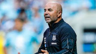 Jorge Sampaoli, técnico do Santos (Foto: Diego Vara/BP Filmes)