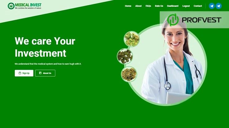 Medical Invest обзор и отзывы HYIP-проекта