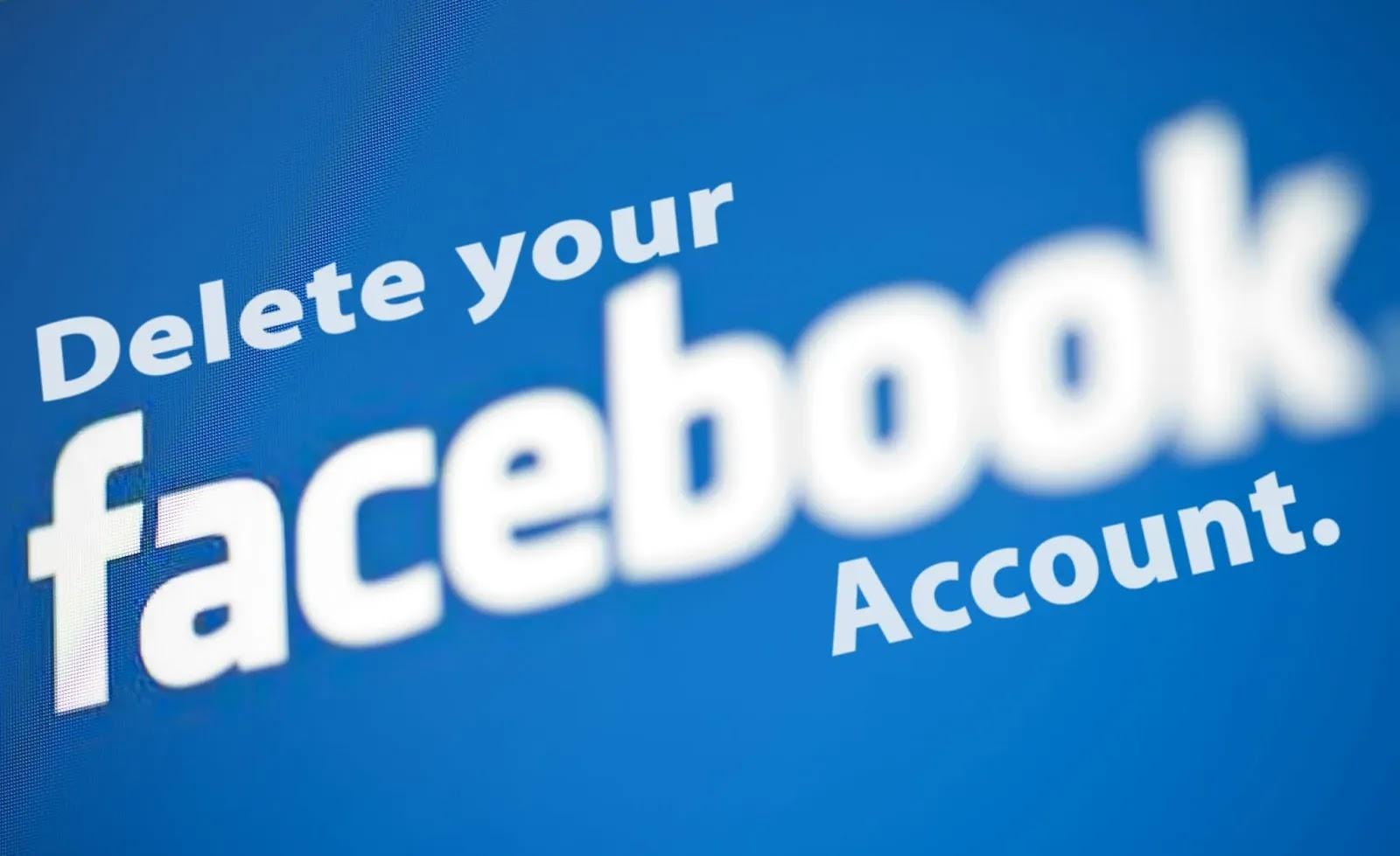 كيف تحذف حسابك وصفحتك والمجموعة على Facebook بخطوات سهلة؟