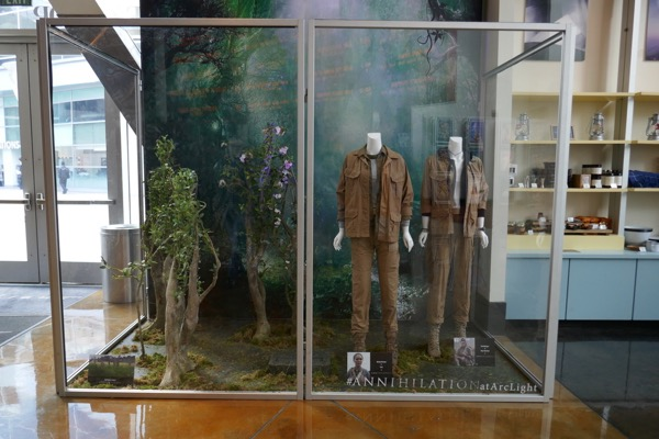 Annihilation movie exhibit