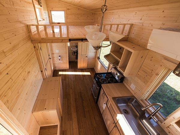 Roanoke from the Tumbleweed Tiny House Company