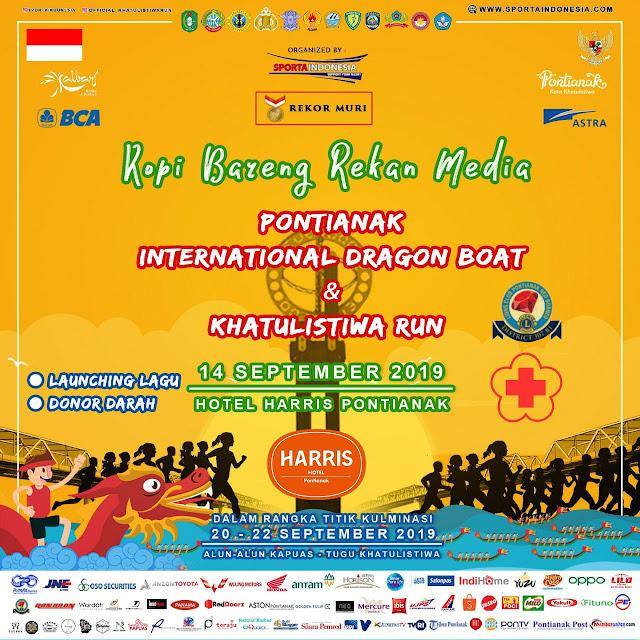 Ayoo Hadiri Event International Dragon Boat Dan Khatulistiwa Run
