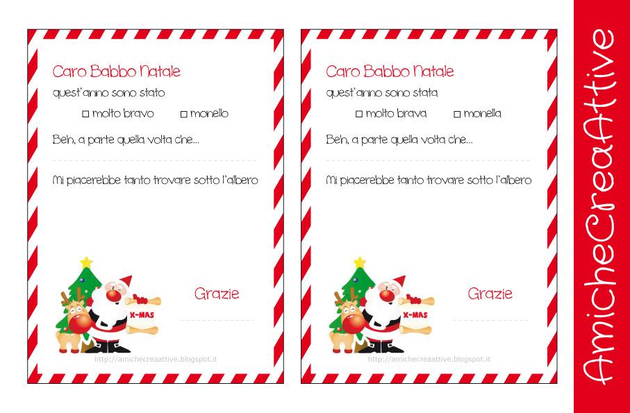 Letterine Di Babbo Natale Da Stampare E Colorare