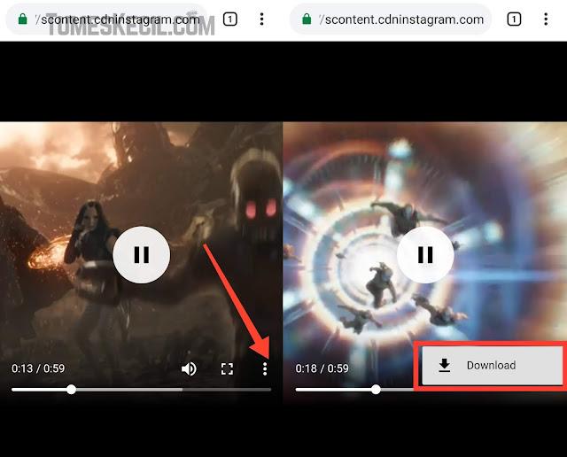 cara download video di instagram tanpa aplikasi