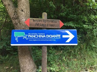 Panchine Giganti tra Brescia,Bergamo e Pavia
