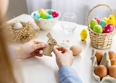 Manualidades huevos de Pascua Semana Santa