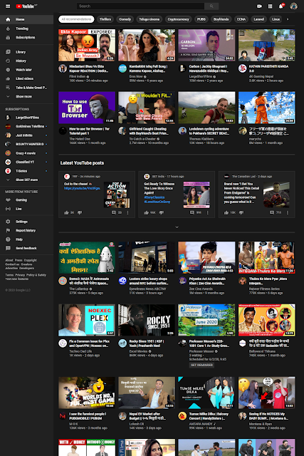 Youtube_Dashboard_bikrambhujel.com.np