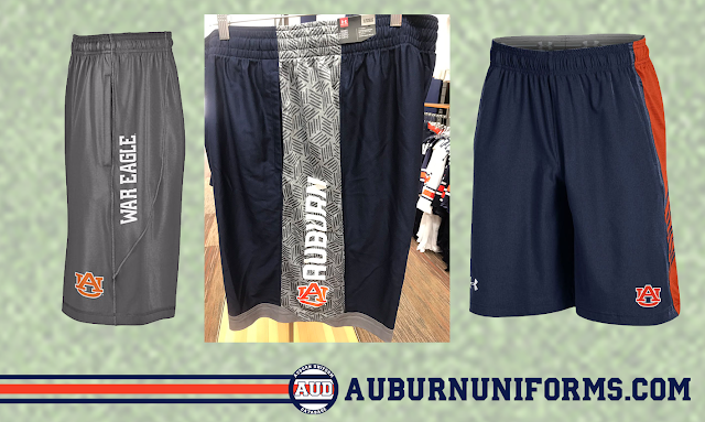 auburn under armour shorts