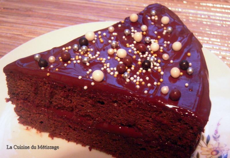 Gateau chocolat pour anniversaire - Gateau au chocolat anniversaire facile ...